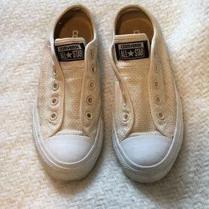 No lace converse size 6